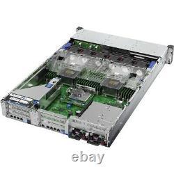 HPE ProLiant DL380 G10 2U Rack Server 1 x Intel Xeon Silver 4210R 2.40 GHz 3