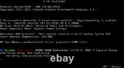 HPE Proliant MicroServer Gen8, Xeon CPU 2.30GHz, 4x1TB HDDs, 8GB DDR3 SDRAM