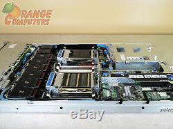 HP DL360p G8 8-Core Server 2x E5-2609 2.4GHz 128GB-16 2GB RPS