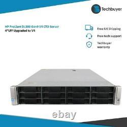 HP DL380 V4 Gen9 G9 4LFF Configurable Rack Server 2x Xeon V4 128GB RAM 4 HDDs