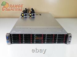 HP DL380p G8 16-Core Server 2x E5-2660 2.2GHz 48GB 25x 500GB SFF 25 Bay 2GB RPS