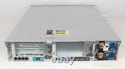 HP DL380p Gen8 G8 8SFF Configurable Rack Server 2x Xeon V2 64GB RAM 2 HDDs