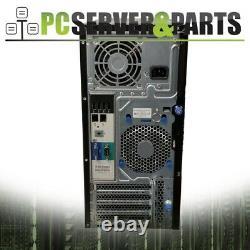HP ML310e Gen8 SFF 4-Core 3.10GHz E3-1220 v2 8GB RAM No HDD No OS