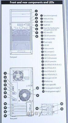HP PROLIANT ML30 GEN9 Xeon E3-1220 3.0GHz 8GB NO HDD NO OS A021905