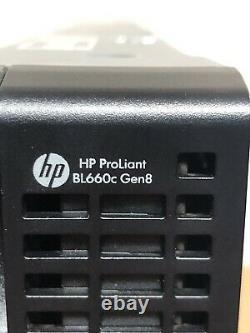 HP ProLiant BL660c Gen8 Blade Server G8 4x E5-4603 2.0GHz 128GB 2x 10Gb FLB SFF