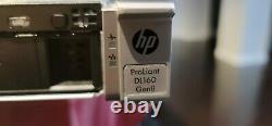 HP ProLiant DL160 Gen8 G8, Intel Xeon E5-2603 0@1.8GHz, 8GB Ram, 2 caddies&rails