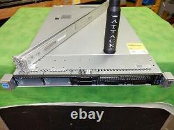 HP ProLiant DL360G9 Server 2X E5-2620v3 12 Cores 2.4GHz 32GB H240ar Rails @4