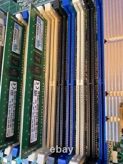 HP ProLiant DL360G9 Server Dual Xeon E5-2620v3 12 Cores 2.4GHz 32GB DDR4