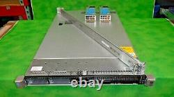 HP ProLiant DL360G9 Server Dual Xeon E5-2620v3 12 Cores 2.4GHz 32GB Rails @5