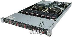 HP ProLiant DL360p Gen8 1U Server 2×Xeon 6-Core 2.5GHz + 64GB RAM + 8×300GB 10K