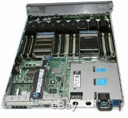 HP ProLiant DL360p Gen8 Server 2×E5-2620 Xeon 6-Core 2.0GHz + 64GB RAM + 4×146GB