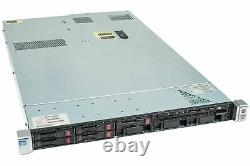 HP ProLiant DL360p Gen8 Server 2×E5-2620v2 Xeon 6-Core 2.1GHz 96GB RAM 4×600GB