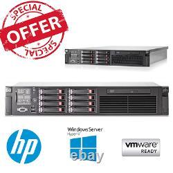 HP ProLiant DL380 G7 2x E5620 2.40GHz 4 core CPU 24GB RAM P410i 4 x 146GB HDD