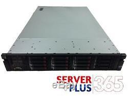 HP ProLiant DL380 G7 9.6TB server, 2x 3.06GHz 6-Core 128GB RAM 16x 600GB 10K SAS
