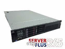 HP ProLiant DL380 G7 server, 2x 2.66GHz 6-Core, 128GB RAM, 4x 600GB 10K SAS