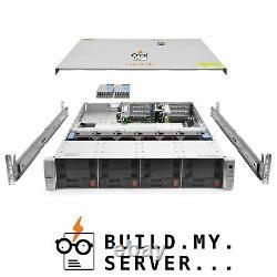 HP ProLiant DL380 G9 Server 2x E5-2680v3 2.50Ghz 24-Core 16GB 2x 4TB Rails