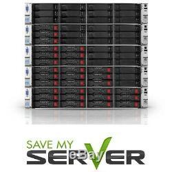 HP ProLiant DL380e G8 Server / 2x E5-2440 2.4GHz =12 Cores / 32GB RAM / 2x Trays