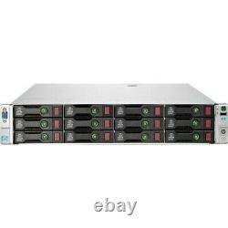 HP ProLiant DL380e G8 Server 2x E5-2450 2.1GHz 16 Cores 64GB 24TB Storage