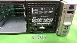 HP ProLiant DL380p G8 Server 2 Xeon E5-2640 12 Cores 2.5GHz 128GB Rail NO HDD 3#