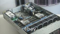 HP ProLiant DL380p Gen8 2U Server 2×8-Core Xeon 2.6GHz + 64GB RAM + 4×600GB RAID