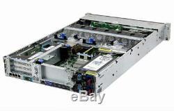 HP ProLiant DL380p Gen8 2×E5-2650v2 Xeon 8-Core 2.6GHz + 96GB RAM + 8×300GB RAID