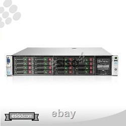 HP ProLiant DL380p Gen8 G8 16SFF 2x 10 CORE E5-2690V2 3.0GHz 32GB RAM NO HDD