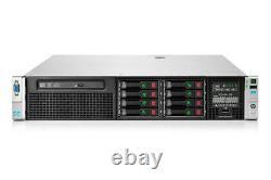 HP ProLiant DL380p Gen8 Server 2×E5-2680 Xeon 8-Core 2.7GHz + 96GB RAM + 8×900GB