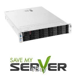 HP ProLiant DL380p Server 2x 3.50GHz 8 Cores 64GB P420 12TB Storage