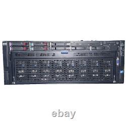 HP ProLiant DL580 G7 Server 4X Intel Xeon E7-4870 2.4GHz 512GB P410i 4X FC 8Gb H