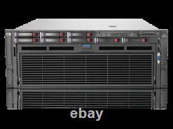 HP ProLiant DL580 G7 Server, 4 x Xeon E7540 @ 2GHz, 128GB RAM, 4 x 900gb 2.5