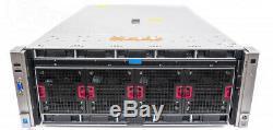 HP ProLiant DL580 GEN8 4x Fifteen-Core E7-4890V2 2.80GHz 512GB RAM 10-Bay Server