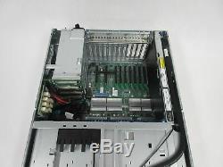 HP ProLiant DL580 Gen8 Server, 4xE7-8891V2 3.20GHz, 8x16GB, 5x2.5 Bays