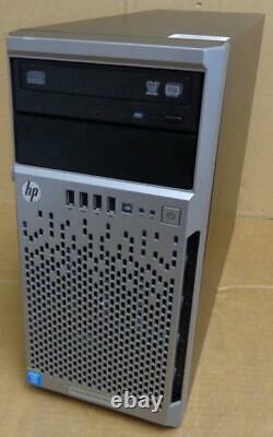 HP ProLiant ML310e Gen8 v2 Tower Server Quad Core E3-1220v3 3.1GHz/16GB