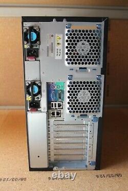 HP ProLiant ML350 G6 Tower Quad Xeon E5520 2.27GHz 12GB RAM 3x300GB 15k SAS