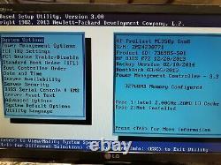 HP ProLiant ML350p Gen8 8-Bay Xeon E5-2640v2 2GHz 32GB NO HDD P420i Rack Server