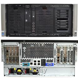 HP ProLiant ML350p Gen8 Server 2x Intel Xeon E5-2620 2.00GHz 64GB P420i No HDD