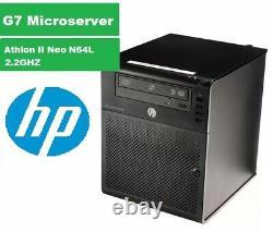 HP ProLiant N54L MicroServer AMD Turion II Neo N54L 2.2Ghz 4GB RAM 4Bay Server