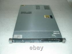 HP Proliant DL360E G8 2.5 2x E5-2430L 2ghz Hex Core / 64gb / P420 1GB / 2x 460w