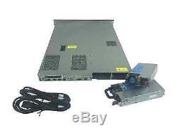 HP Proliant DL360 G7 4-Bay server, 2x 3.06 GHz 6-Core, 72GB RAM, 2x 600GB 10K