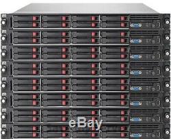 HP Proliant DL360 G7 Server 2x X5570 2.93GHz = 8 Cores 192GB 8x 500GB SSD