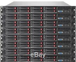 HP Proliant DL360 G7 Server 2x X5675 3.06GHz = 12 Cores 64GB RAM 4x 250GB SSD