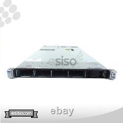 HP Proliant DL360p G8 Gen8 10SFF 2x QUAD CORE E5-2609 2.4GHz 128GB RAM NO HDD