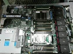HP Proliant DL360p G8 SERVER 8SFF 2x 6 CORE E5-2678 2.0GHz 32GB RAM NO HDD