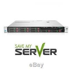 HP Proliant DL360p G8 Server 2x E5-2680 2.7GHz 16 Cores 64GB RAM 8x Trays