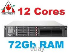 HP Proliant DL380 G7 2x 2.66Ghz Hexa Core (12 Cores Total) 72GB DDR3 600Gb SAS