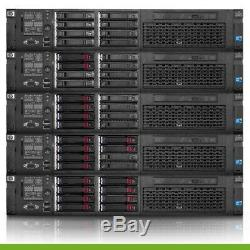 HP Proliant DL380 G7 Server 2.53GHz 4-Core 96GB RAM 3x 300GB 10K + 4x Trays