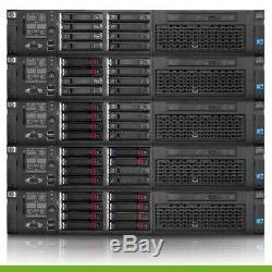 HP Proliant DL380 G7 Server 2.66GHz 12-Cores 48GB RAM DVD 8 + Trays Rails