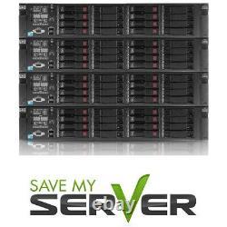HP Proliant DL380 G7 Server / 2x E5640 2.66GHz = 8 Cores / 8GB RAM / 3x 500GB HD