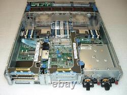 HP Proliant DL380 G9 2x Xeon E5-2678 V3 2.5Ghz 24-Cores 64GB P440ar 4x Trays