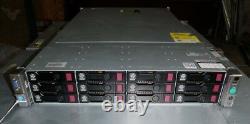 HP Proliant DL380p G8 12-Bay LFF Server-2x E5-2650 V2 2.6GHz-128GB-48TB-12x 4TB